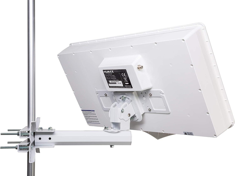 Humax digital h40d2 Flat Espejo Plano de Antena de satélite para 2 ...