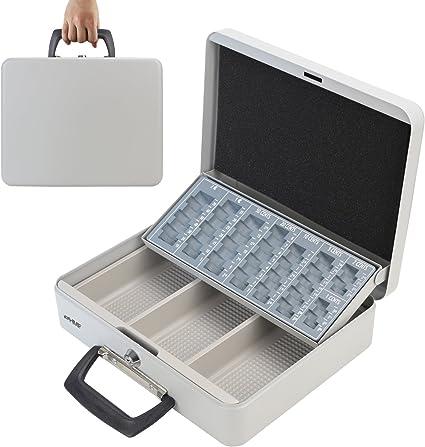HMF 10016-07 Caja de caudales, para transportar y contar dinero 30 ...