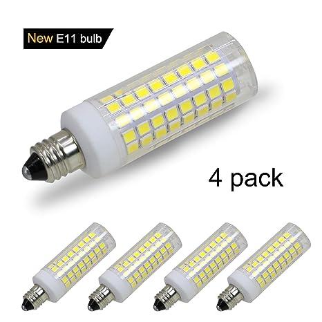 Amazon.com: Bombillas LED E11 (102LED), equivalentes a 8 W ...