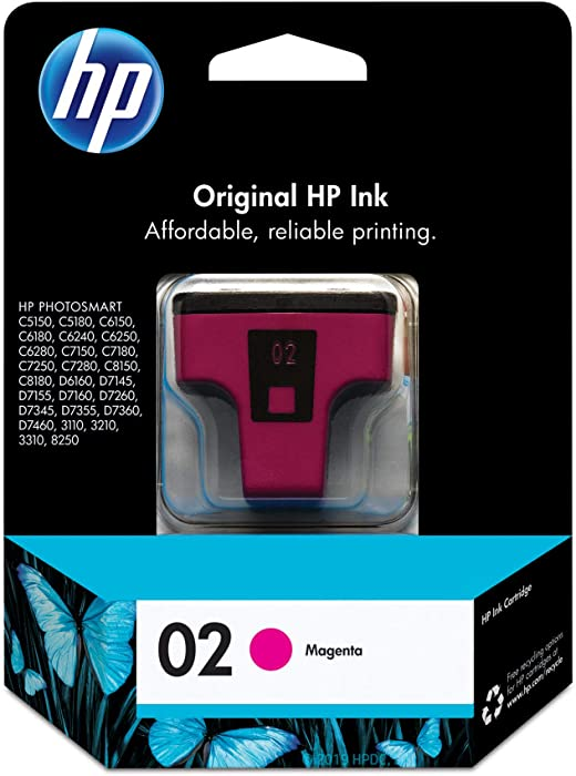 HP 02 | Ink Cartridge | Magenta | C8772WN