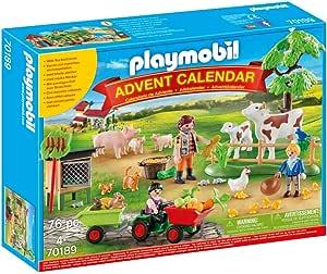 PLAYMOBIL Country Set de Juguetes Farm Animals (70189): Amazon.es: Juguetes y juegos