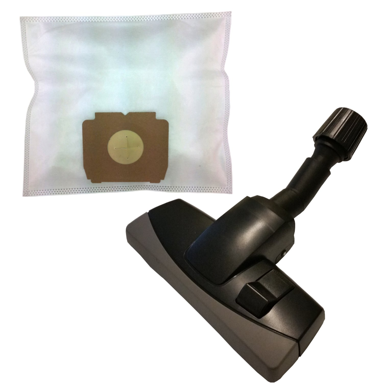 20 Bolsas de tela + boquilla umschaltbare universal con protección ...