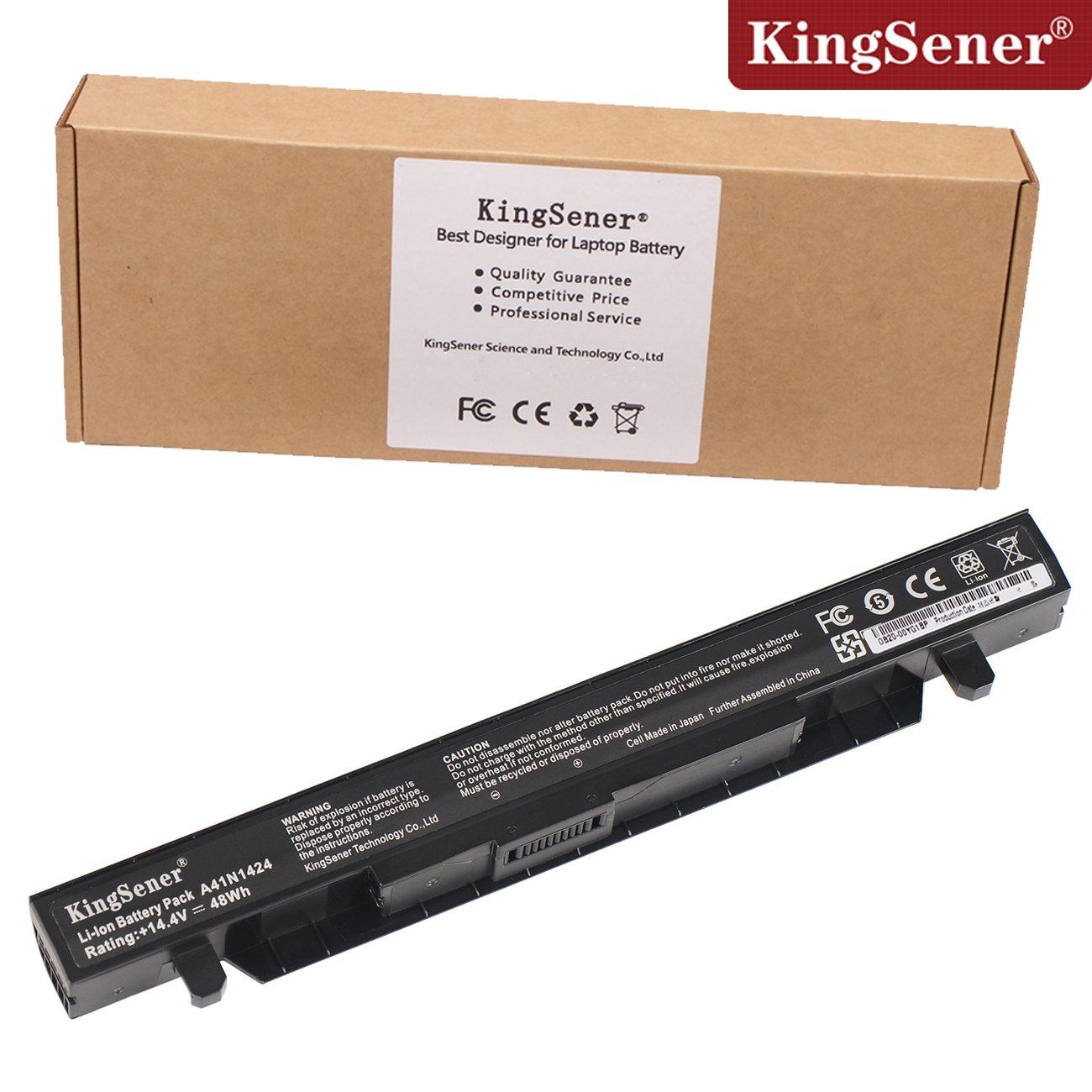 Bateria A41n1424 Para Asus Asus Rog Gl552 Gl552v Gl552vw Gl552j Gl552jx Zx50v Zx50vw Zx50jx X50j Zx50 Jx4200 Jx4720 Fx-p