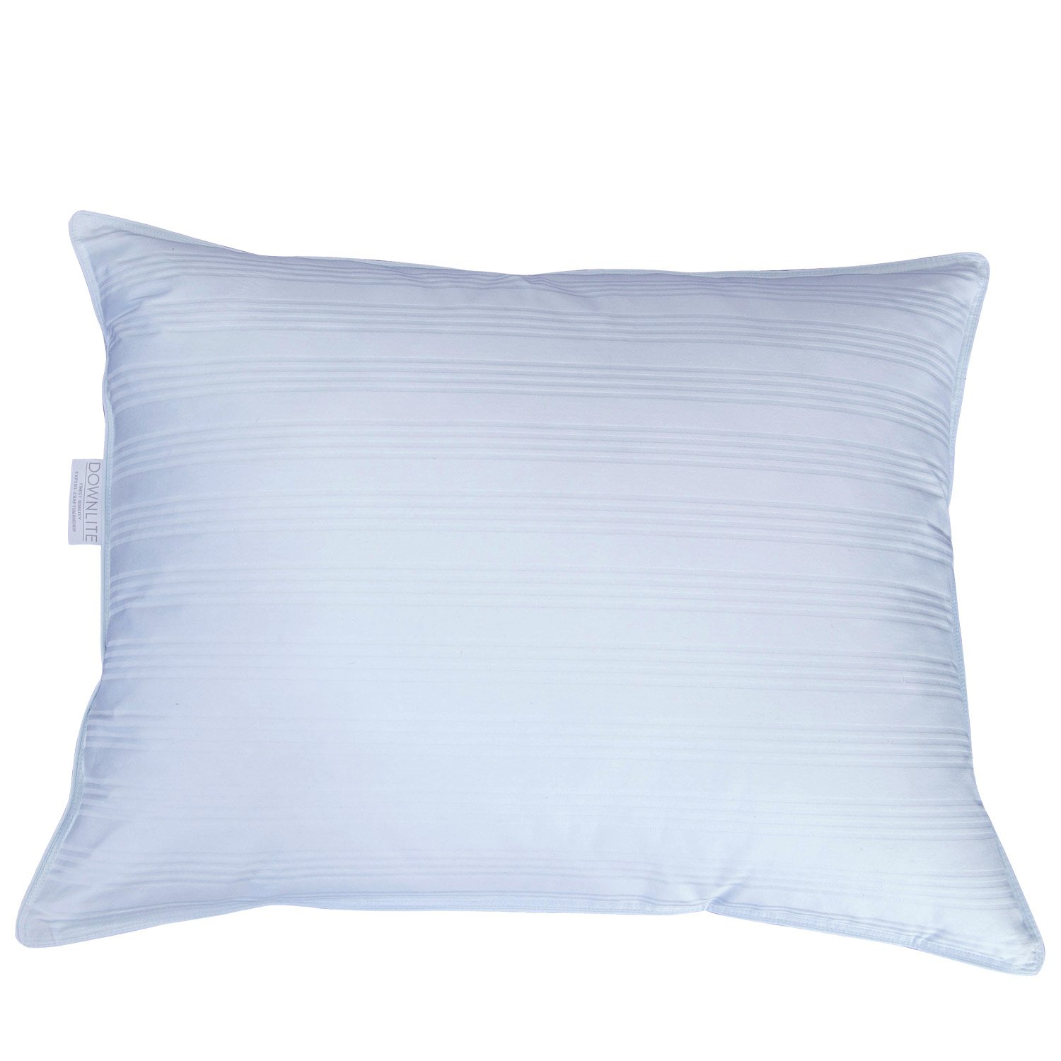 DOWNLITE Extra Soft Down Pillow - Great for Stomach Sleepers - Very Flat (Queen - Duck Down)