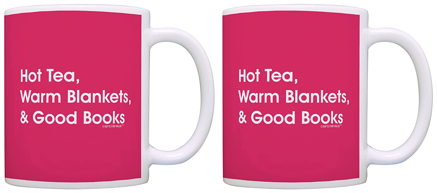 Amazon.com: Reader Gifts Hot Tea Warm Blankets and Good Books ...