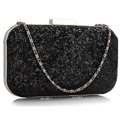 Womens Prom Party Wedding Bags Ladies Evening Clutch Purse Sequin Design ( Nude Envelope Clutch) 662b437d1
