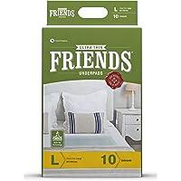 Friends Ultrathin Underpads - Large (10 Count)