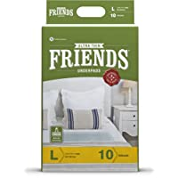 Friends Ultrathin Underpads - Large (10 Count)