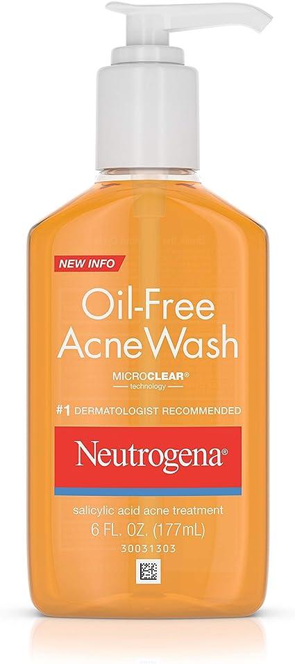 Amazon Com Neutrogena Oil Free Salicylic Acid Acne Treatment Acne