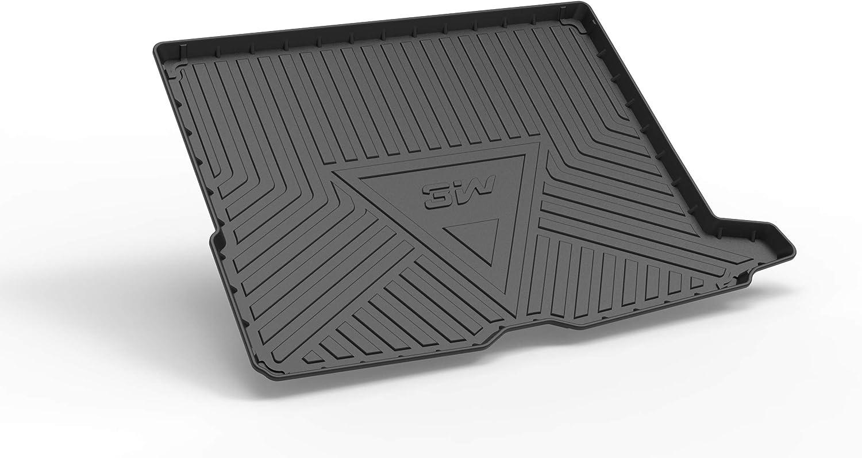 Mixsuper Cargo Liner for 2019 Mercedes CLA TPO All Weather Rear Durable Odorless 3D Trunk Floor Mat Custom Fit Mercedes Benz CLA Class 2014 2015 2016 2017 2018
