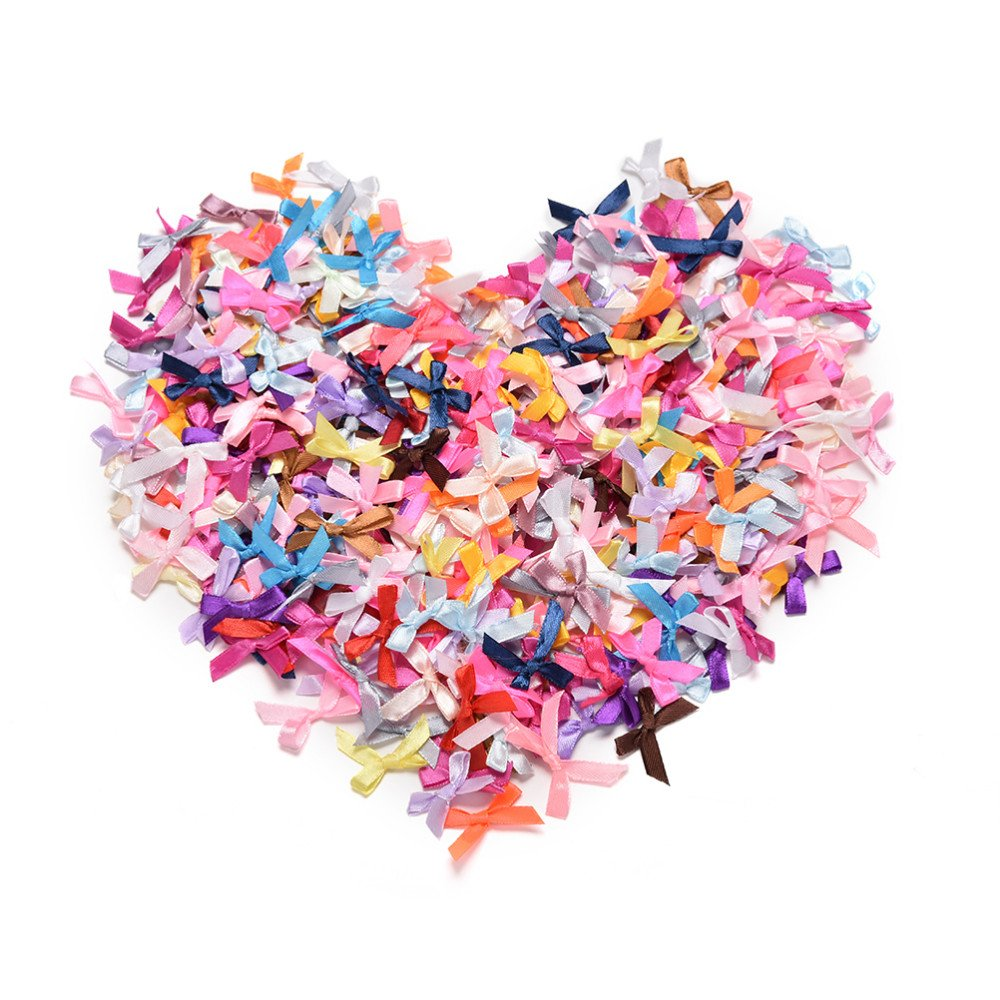 Craft Supplies Shabby Flowers - 500pcs/lot Wholesale Handmade DIY Pre Tied  Satin Ribbon Gift Package Bow Wedding Scrapbooking Embellishment Crafts