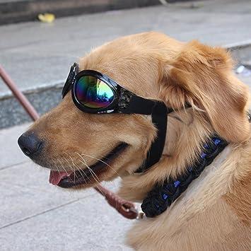 Cestlafit Gafas De Sol Para Perros De Mascotas, Gafas De Sol Para Perros, Lentes Para Perros Para Perros Grandes, Negro