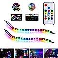 Digital RGB PC LED Strip, Airgoo Computer Magnetic Addressable LED Strip Kit