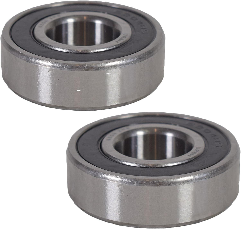 AB Tools 2 ERDE Sealed Trailer Wheel Hub Ball Compact Bearings ID20 x OD47 x W14mm