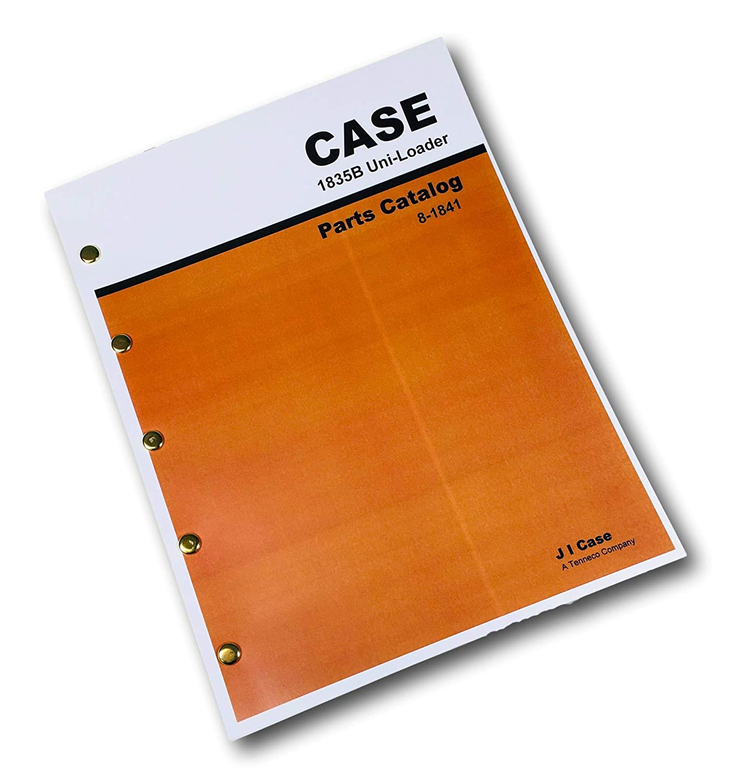 CASE 1835B 1845B SKID STEER UNI LOADER OPERATORS OPERATION MAINTENANCE MANUAL