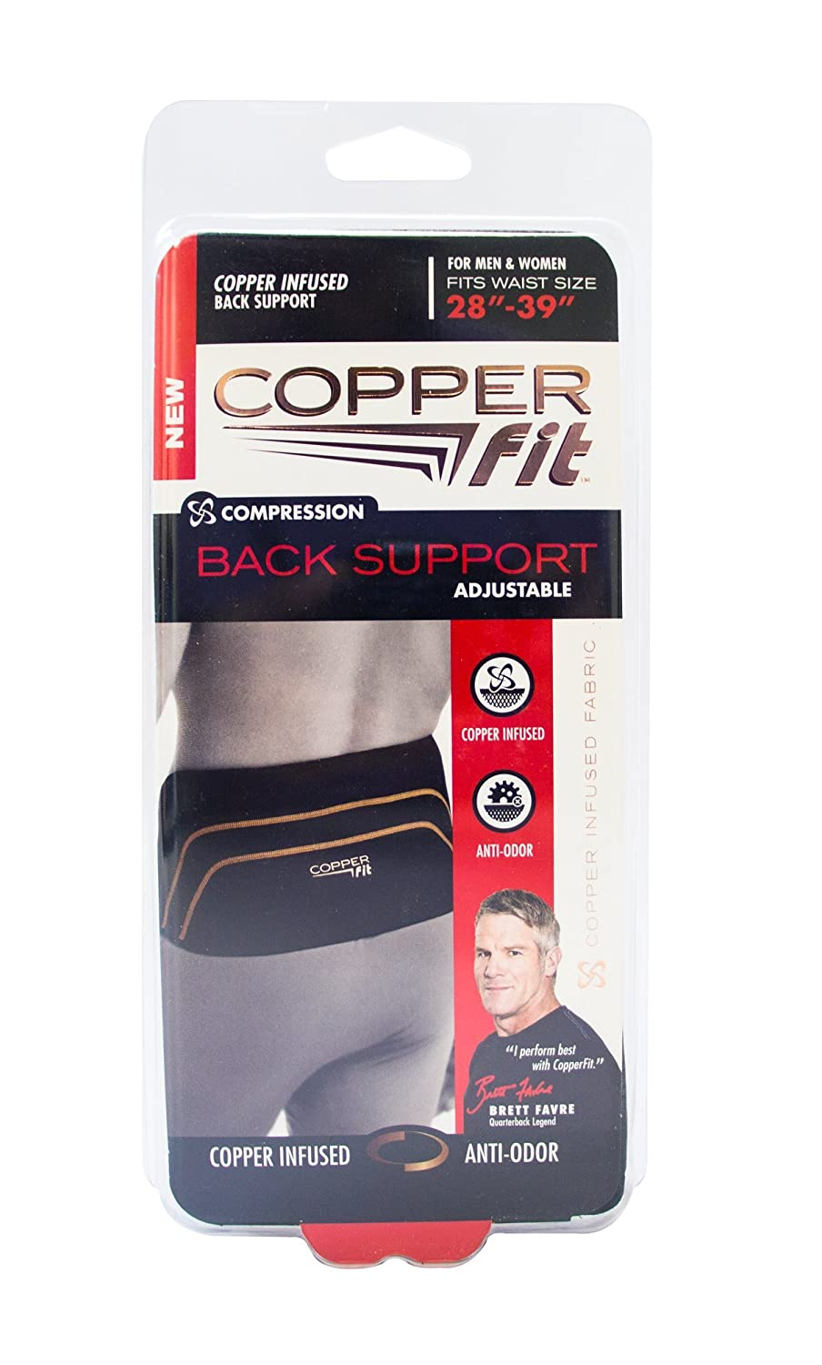 Copper Fit Compression Back Support
