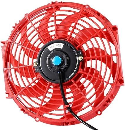 Jtron - Ventilador de refrigeración universal para radiador ...