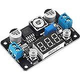Buck Converter 24v to 5v, DROK DC 4-32V to 1.25-30V 3A Adjustable Step Down Module, LM2596 Voltage Regulator Board, 12V to 5