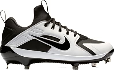 innovative design d6159 314bc Nike Men s Alpha Huarache Elite Baseball Cleats (7, Black)