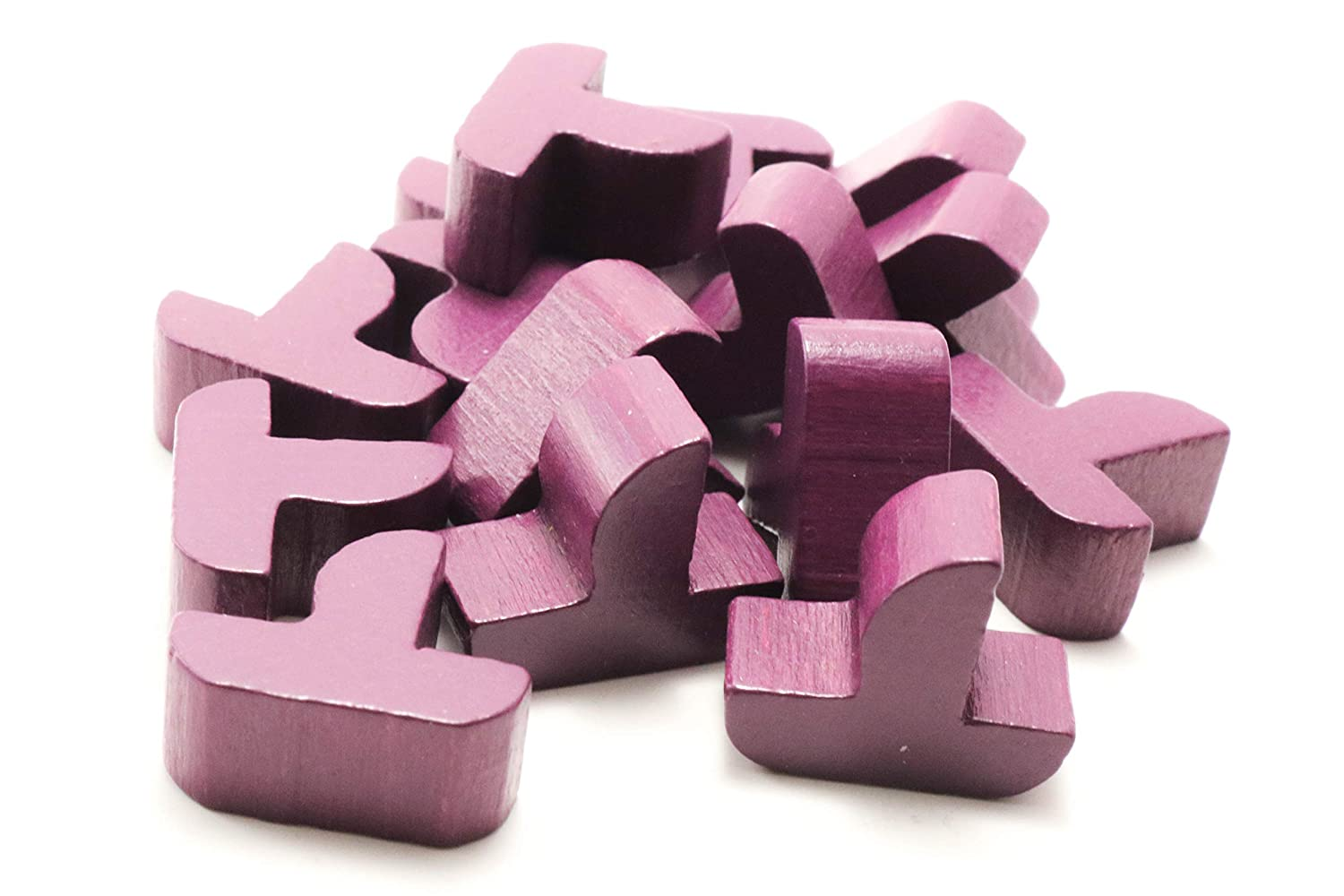 Seafarers Edition YorksGamePieces Purple Ships Expansion Wood Replacement Pieces for Settlers of Catan