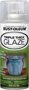 Rust-Oleum 264985 Specialty Clear Triple Thick Spray, Clear, 12-Ounce