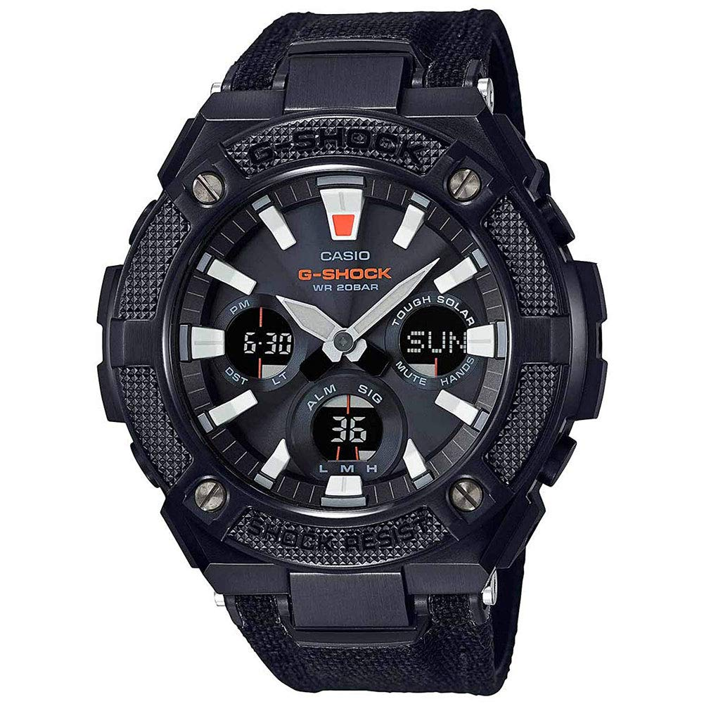 CASIO G-Shock G-Steel GSTS130BC-1A Black Watch