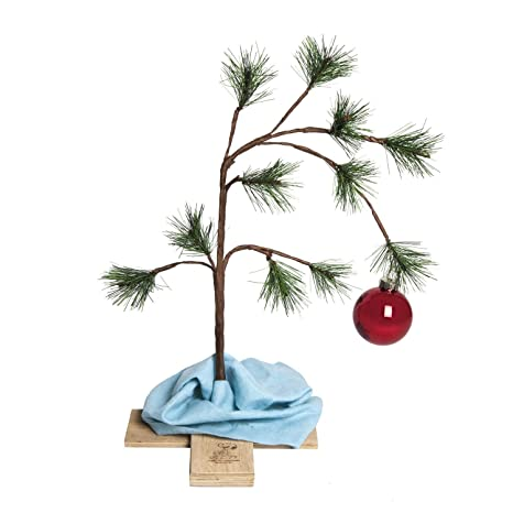 Ll Bean Christmas Trees.Charlie Brown 14 Christmas Tree With Blanket