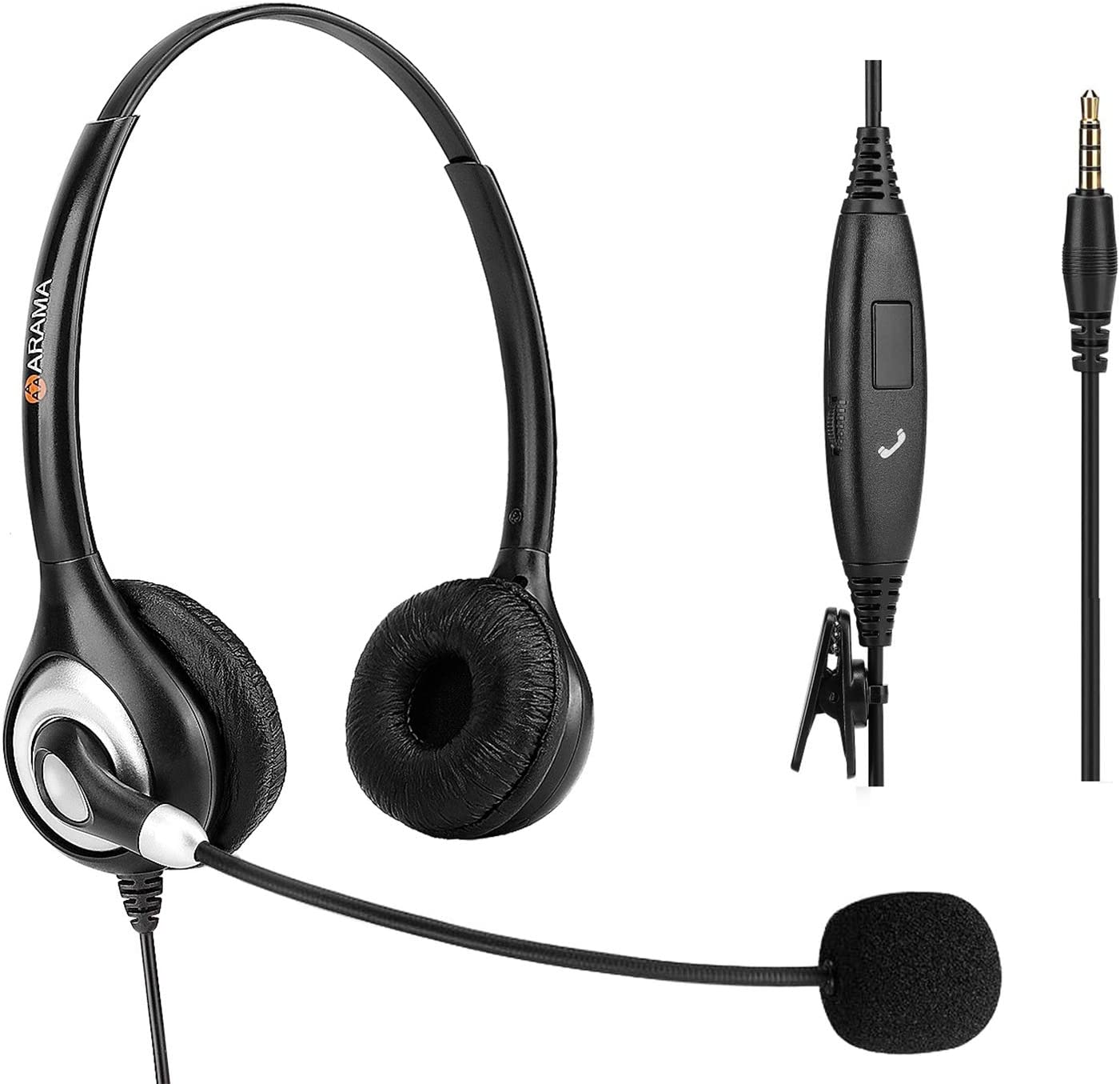 Arama Cell Phone Headset for small heads