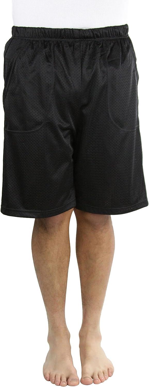 ToBeInStyle Men's Inner Drawstring Mesh Shorts
