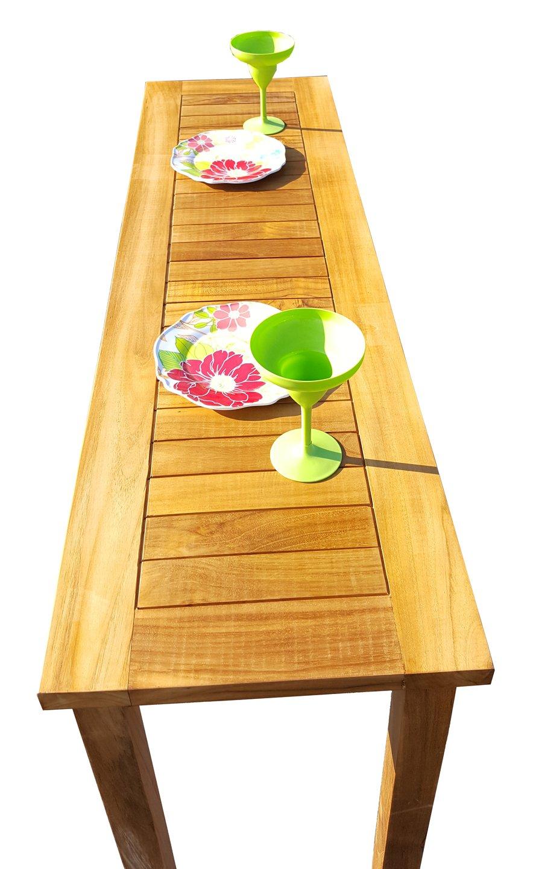 Teak Santa Monica Serving Table Made By Chic Teak