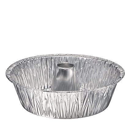Moldes De Aluminio Desechables Para Hornear Tartas Tubo De