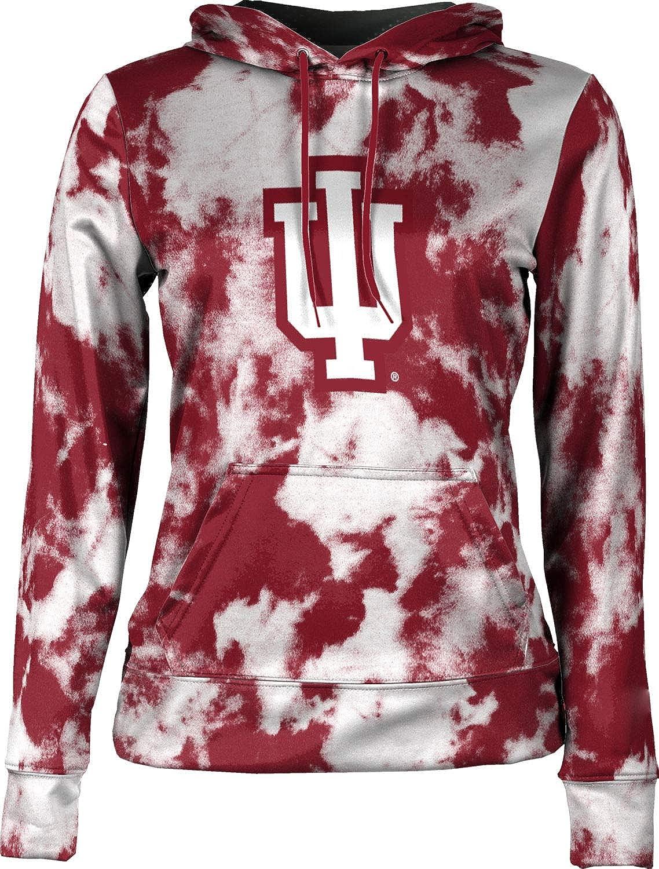 ProSphere Indiana University Girls Zipper Hoodie School Spirit Sweatshirt Letterman
