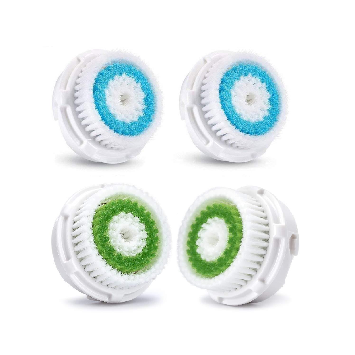 Rechoo profonda dei pori pulizia del viso testine di ricambio per Mia 1, MIA2, MIA3(aria), Smart Profile, ALPHA Fit, Pro, Plus e Radiance Cleansing Systems