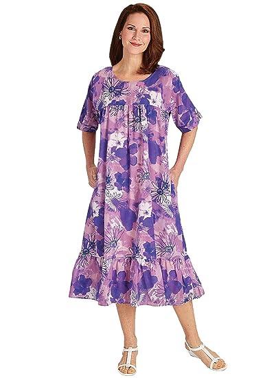 Carol Wright Gifts Muumuu Dress | Plus Size Muumuu Dress at Amazon ...