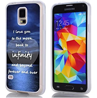 Amazon Com S5 Case Christian Quotes Hungo Tpu Rubber Cover For