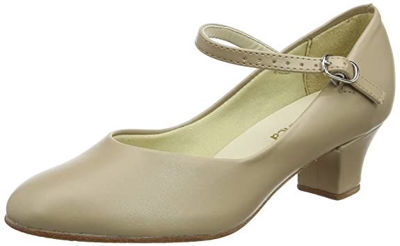 Swing Dance Shoes- Vintage, Lindy Hop, Tap, Ballroom SoDanca CH50 Womens Character Shoe 1.5in Heel $54.00 AT vintagedancer.com