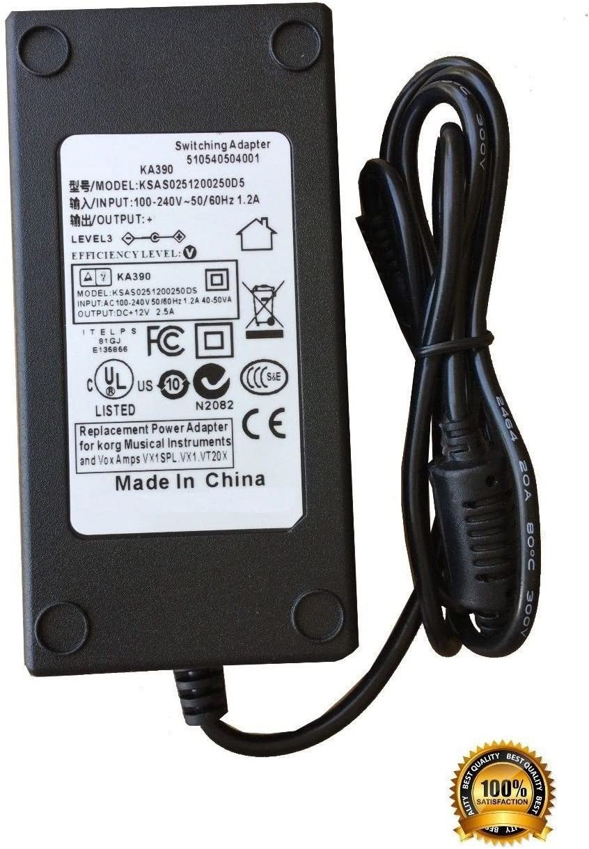 510405543501 KA-390 AC Power Adapter Compatible with Vox KA390 Power Supply