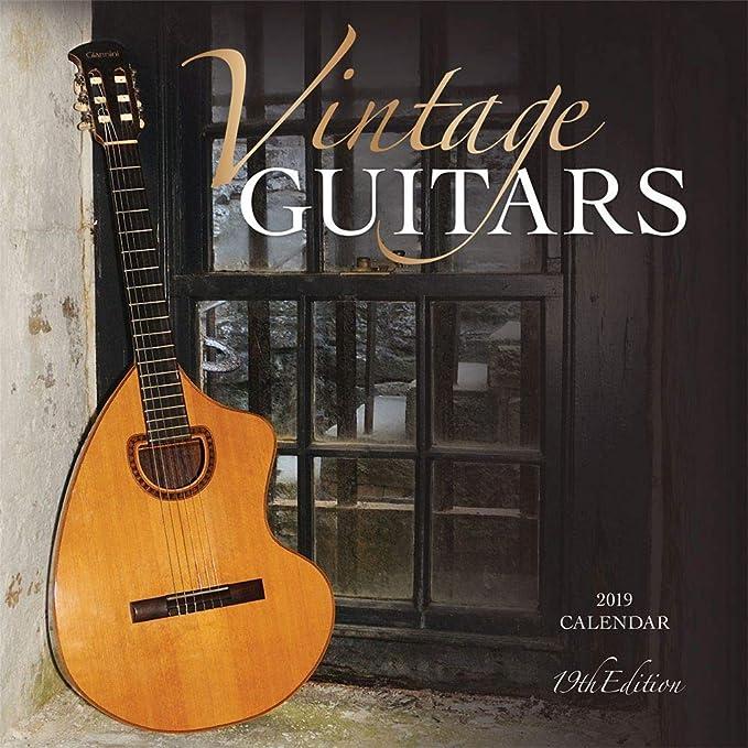 2019 Vintage Guitars Wall Calendar, Guitars by Wyman Publishing