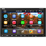 """Pyle Double Din - Touchscreen In-Dash DVD/CD Player with GPS Navigation, 7"""" LCD Monitor Head Unit Receiver, Wireless Bluetooth, USB/Micro SD Card Slot, AM FM Radio and RCA To AUX Input (PLDNAND692)"""