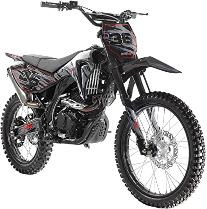 X-PRO Hawk 150cc Adults Dirt Bike Pit Bike Youth Dirt Pit Bike 125 Dirt Bike Dirt Pitbike,Big 19//16 Wheels with Dust Cover-Green