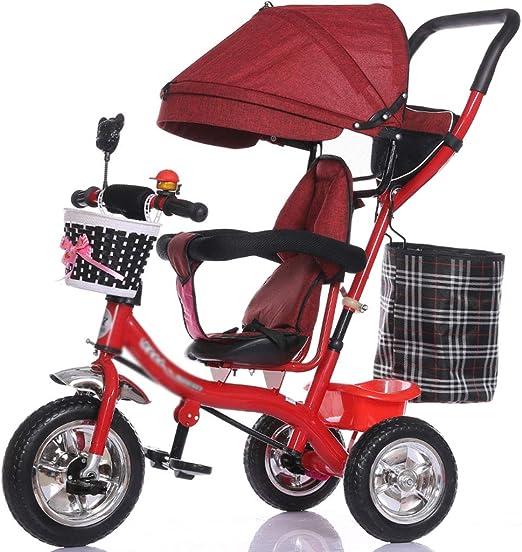 YC electronics Sillas de Paseo Carro Triciclo Multifuncional para ...