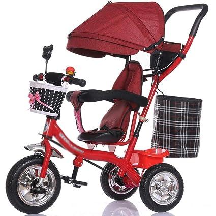 YC electronics Sillas de Paseo Carro Triciclo Multifuncional ...