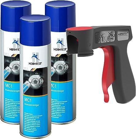 Auprotec Normfest Bremsenreiniger Mc 1 Multicleaner Intensive Cleaner Spray 500 Ml Transparent Auto