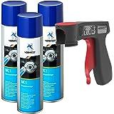Normfest Nettoyant de Freins Multicleaner MC-1 Purificateur Intense transparent Spray (3x 500ml)