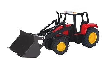 Dickie spielzeug  traktor mit frontlader farm tractor