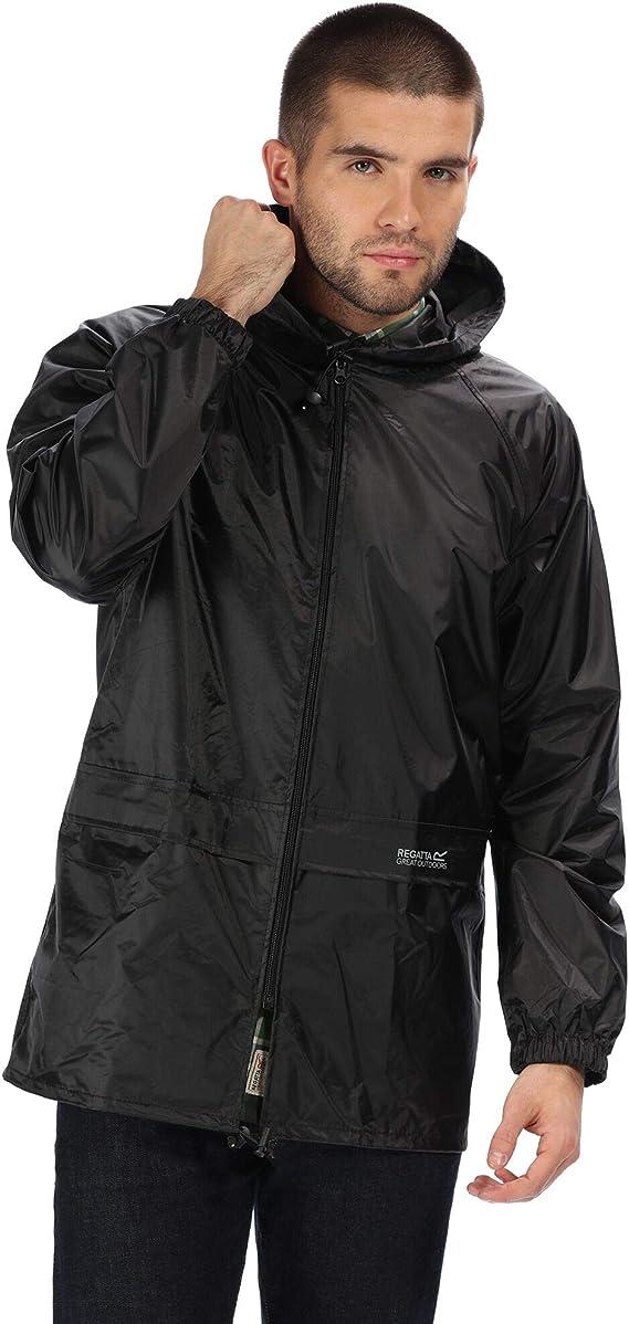 Regatta Mens Waterproof Over Trouser Stormbreak Hiking Lightweight Dark Olive