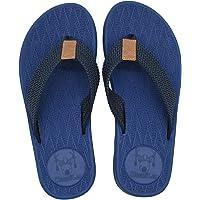 KuaiLu Chanclas Hombre Verano Playa Piscina Comodas Sandalias Goma Planas Caminar Zapatos