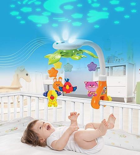 KiddoLab Baby Crib Mobile