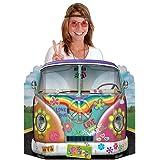 Générique Passe-tête voiture hippie