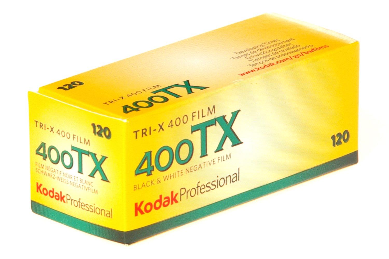 Kodak Tri-X 400TX Professional ISO 400, 120mm, Black and White Film 196 5599